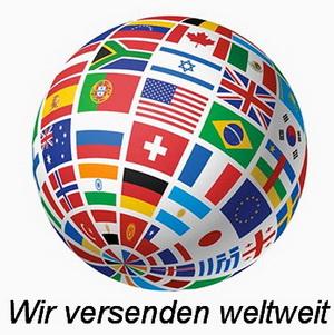 Wir versenden weltweit